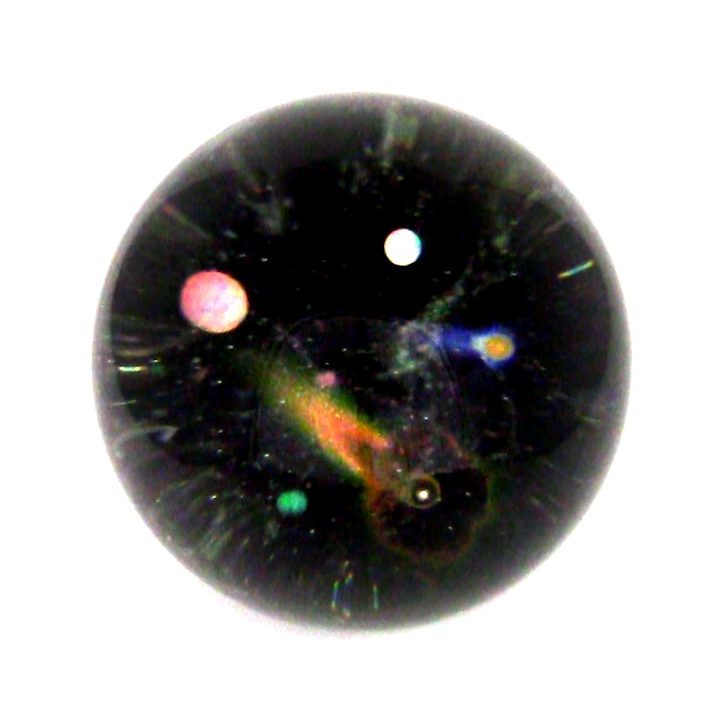 comets and planets internal fire glass