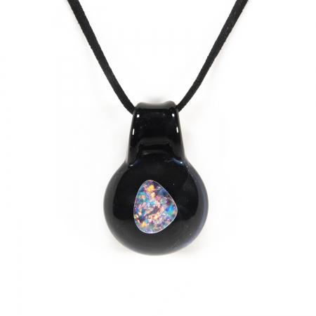 Firestorm Opal pendant
