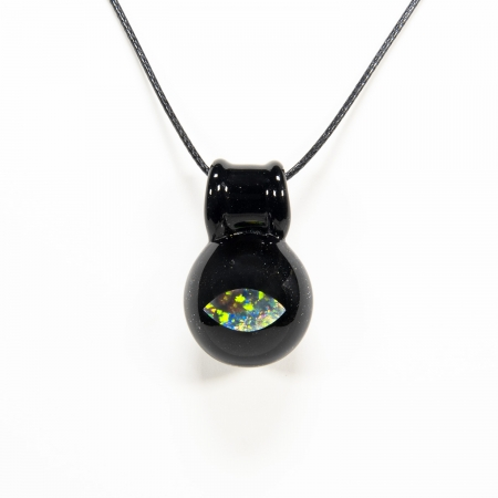 Deep Space Cat Eye Opal pendant